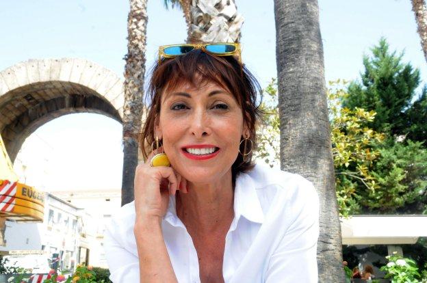 La actriz se estrenó en el Teatro Romano el pasado miércoles defendiendo el papel de Cántara en 'La comedia de las mentiras'. :: BRÍGIDO