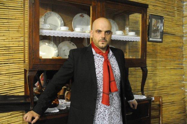 David Quintana, bailaor y profesor de la academia 'Sueño Flamenco'. :: BRÍGIDO