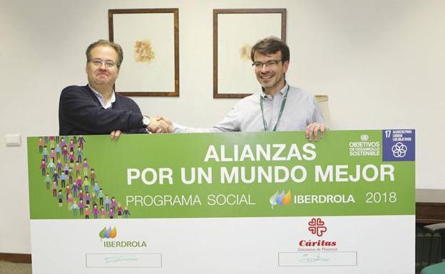 Iberdrola contribuye a consolidar el comedor social de for Proyecto comedor social
