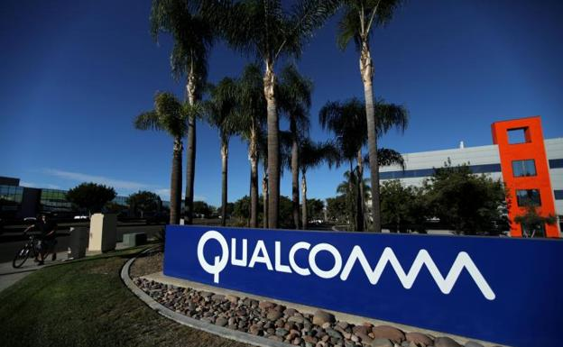 Cartel de Qualcomm en Florida.