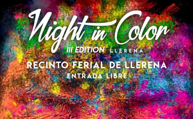 Night in Color, el 13 de agosto en el Recinto Ferial