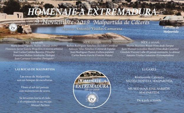 Malpartida de Cáceres acoge el 'Homenaje a Extremadura', organizado por Antonio Viudas Camarasa