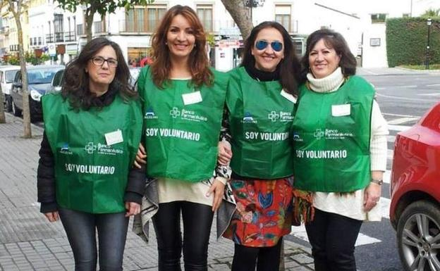 Voluntarias de Zafra Solidaria.