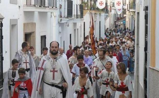 Un Recreación Popular Centra El Xv Festival Templario De Jerez De Los Caballeros Del 12 Al 15 De Julio Hoy