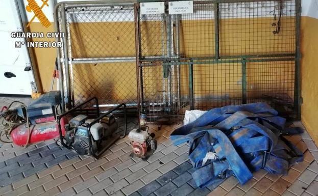 6116a3fb029f Las diligencias han sido instruidas a los dos vecinos de Almendral  responsables de las acciones delictivas