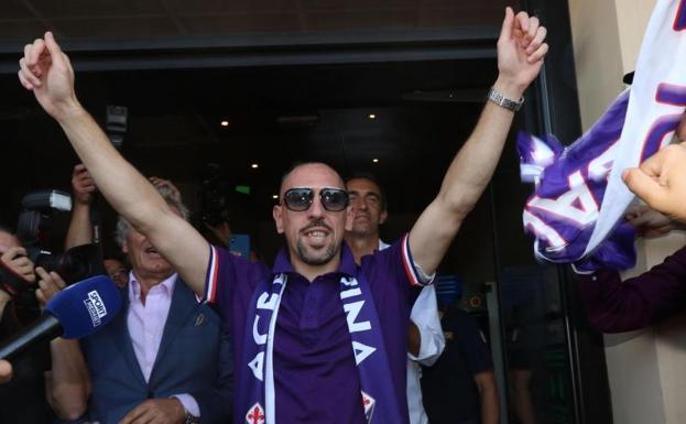 fábrica auténtica última colección precios de liquidación Ribéry encuentra acomodo en la Fiorentina mientras otros ...