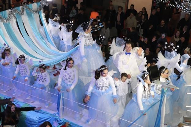 Veinte carrozas desfilarán en la Cabalgata de los Reyes Magos de ...