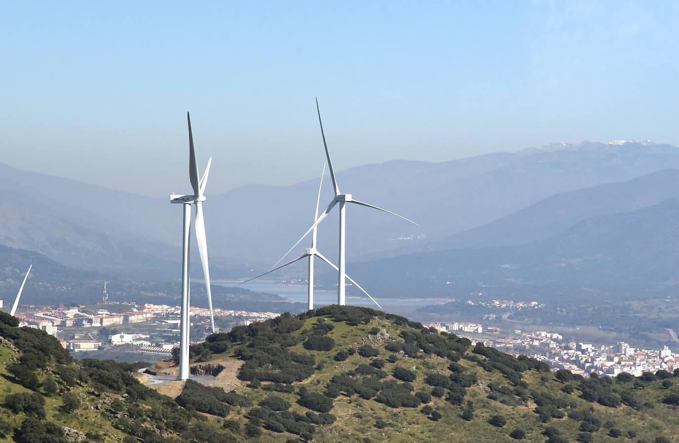 Parque eólico del Merengue. /HOY