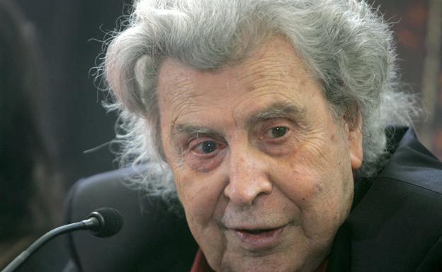 El compositor girego Mikis Theodorakis./efe