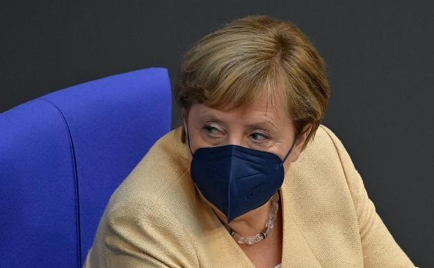 Angela Merkel.  / Afp