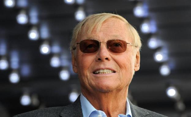 El actor Adam West./